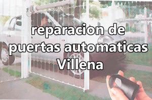 reparacion puertas automaticas villena